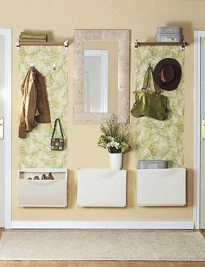 Decorar con papel pintado un recibidor tul de seda - El mundo del papel pintado ...